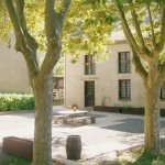 Group Gite Outside Courtyard